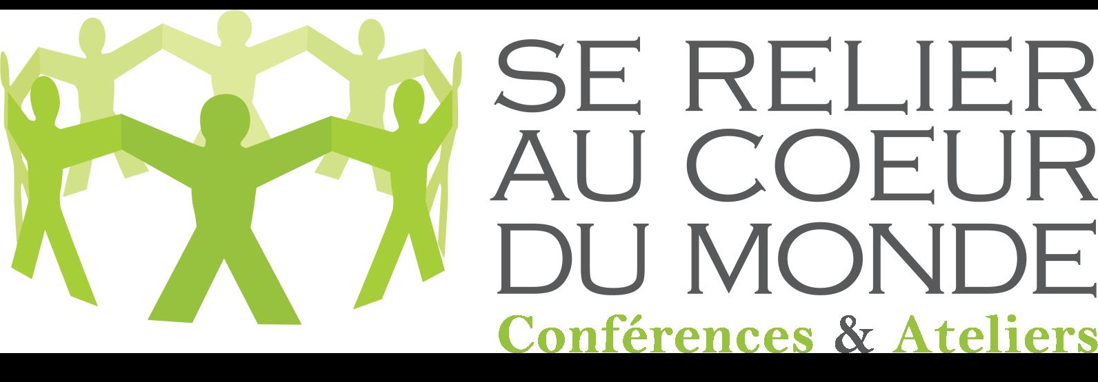 logo se relier au coeur du monde conférences et ateliers st-césaire